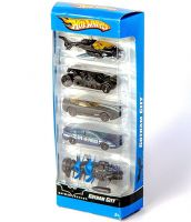 Hotwheels: Batman Begins Gotham City 1:64 Scale 5-Pack